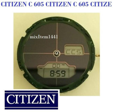 NEW ! WATCH MOVEMENT CITIZEN C 605 (OLD STOCK) With New Capacitor when shipped