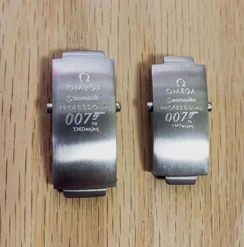New ! Omega Seamaster James Bond 007 Clasp For Bracelet Strap Band STZ003191