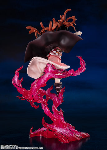 DEMON SLAYER: KIMETSU NO YAIBA - FIGUARTS ZERO - NEZUKO KAMADO BLOOD DEMON ART