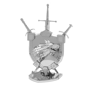 Metal Earth ICONX Game Of Thrones House Stark Sigil