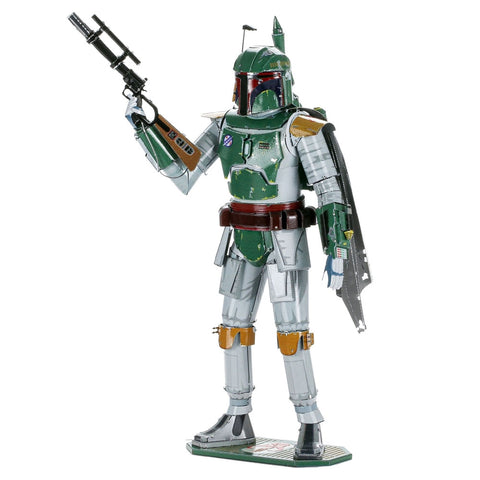 Image of Metal Earth Star Wars Boba Fett ICONX