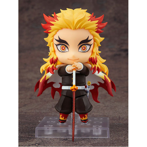 Image of DEMON SLAYER: KIMETSU NO YAIBA - NENDOROID - RENGOKU KYOJURO