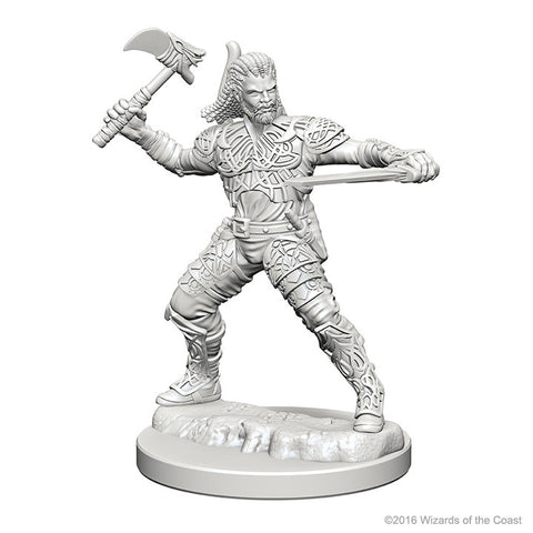 Image of Dungeons And Dragons Unpainted Minis Human Male Ranger
