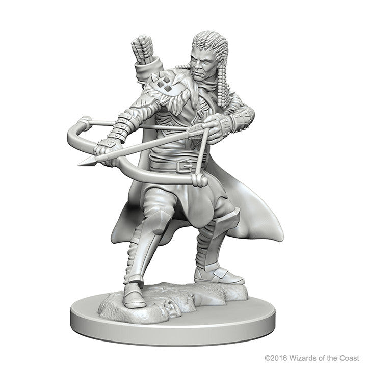 Dungeons And Dragons Unpainted Minis Human Male Ranger