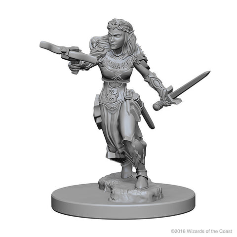 Image of Dungeons And Dragons Unpainted Minis Elf Female Ranger