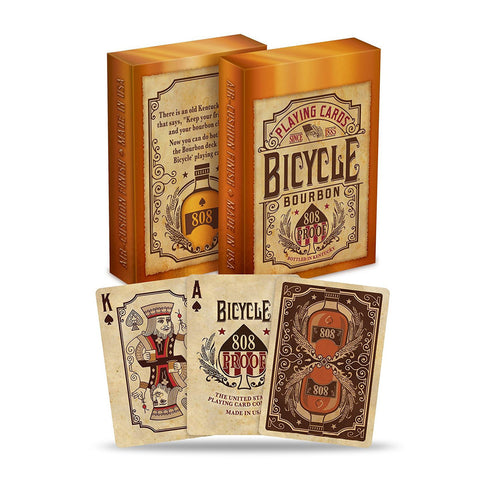Image of Bicycle Poker Bourbon