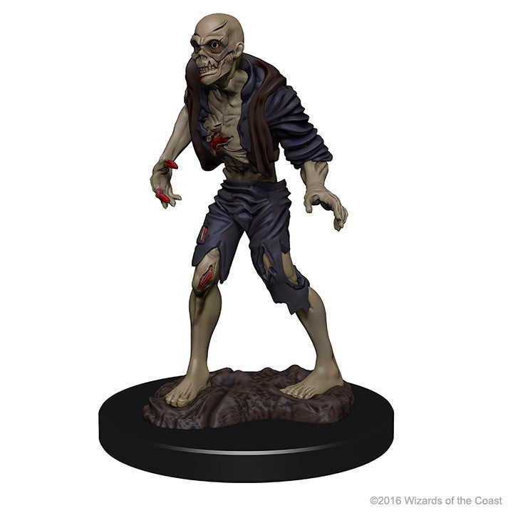 Dungeons And Dragons Unpainted Minis Zombies