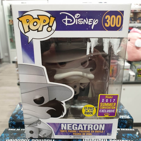 SDCC17 Darkwing Duck - Negatron GITD Pop! Vinyl