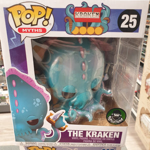 The Kraken 6 inch Pop Vinyl