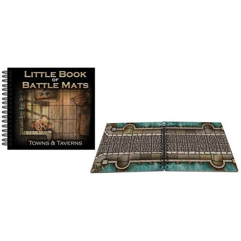 Little Book of Battle Mats Towns & Taverns