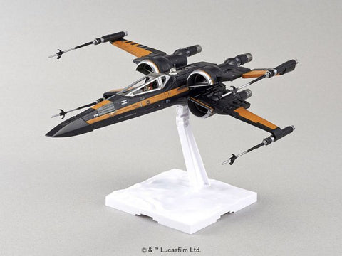 Image of Star Wars Poes X-Wing Fighter 1/72 Model Kit