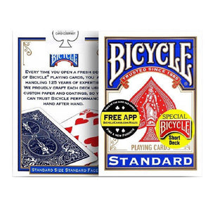 Bicycle Short Decks Blue Case Playing Cards