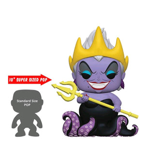 "The Little Mermaid - Ursula with Crown & Trident 10"" US Exclusive Pop! Vinyl"