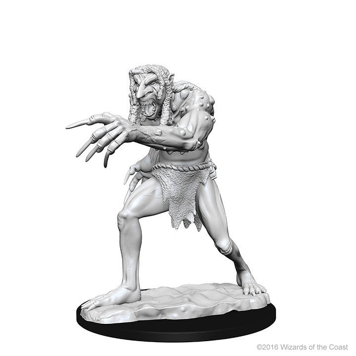Dungeons And Dragons Unpainted Minis Troll
