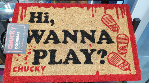 Chucky-Hi Wanna Play? Doormat