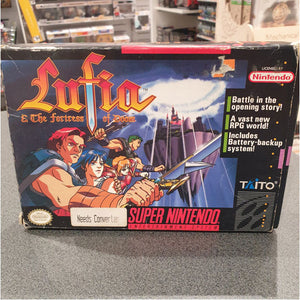 Lufia And The Fortress Of Doom Boxed Complete (NTSC requires Converter)