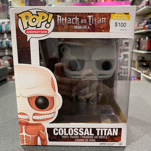 Attack On Titan Colossal Titan 6 Inch Pop Vinyl
