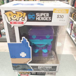 Batman - Batman Purple US Exclusive 8-Bit Pop Vinyl