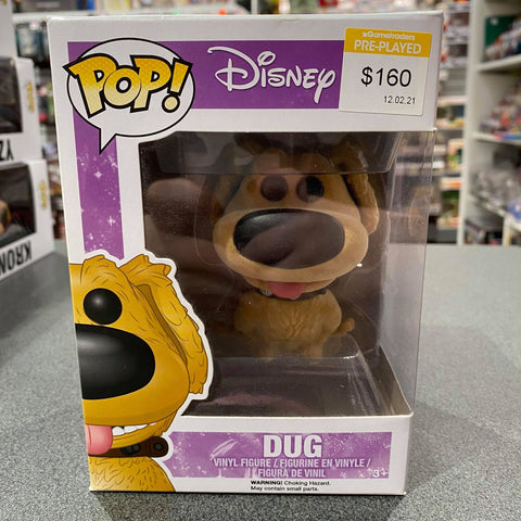 Up - Dug Flocked Pop Vinyl
