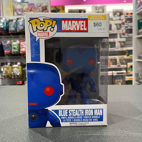 Marvel- Blue Stealth Iron Man Pop! Vinyl