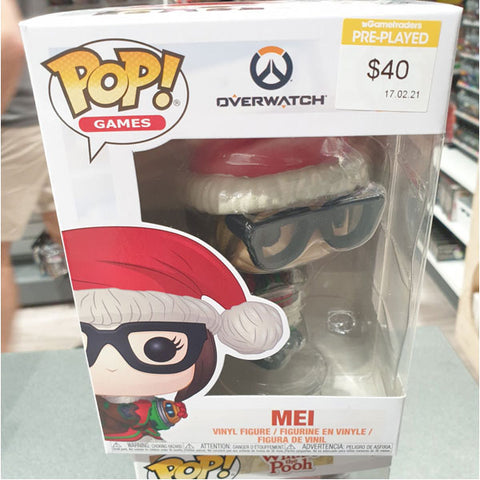 Overwatch Mei Christmas Pop Vinyl