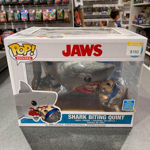"Jaws - Jaws Eating Quint 6"" SDCC 2019 US Exclusive Pop! Vinyl"
