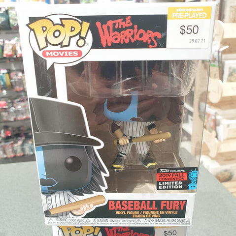 The Warriors - Baseball Fury Blue NYCC 2019 US Exclusive Pop! Vinyl