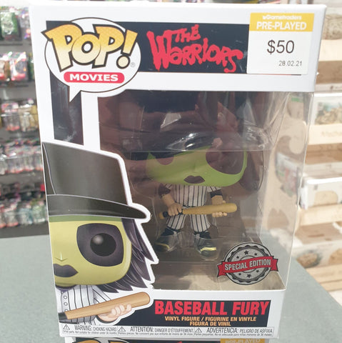 The Warriors - Baseball Fury Green Pop! Vinyl