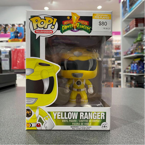 Power Rangers - Yellow Ranger Pop Vinyl