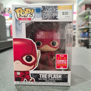 SDCC 2018 Flash - Flash Running Translucent Pop! Vinyl