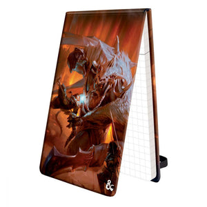 Dungeons & Dragons Pad of Perception with Fire Giant Art
