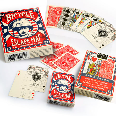 Bicycle Poker Escape Map
