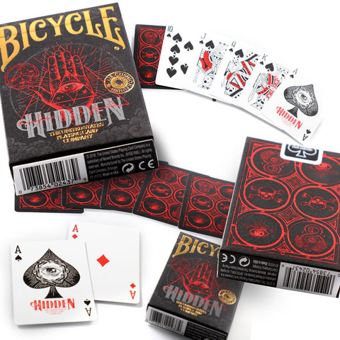 Bicycle Cards Hidden Foil