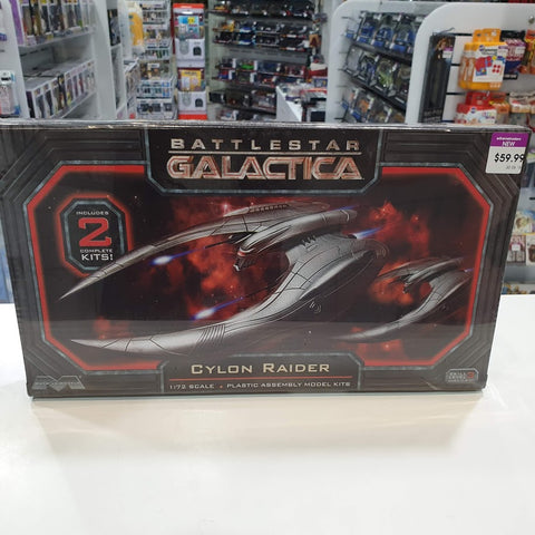 1:74 Battlestar Galactica Cylon Raider Plastic Model Kit