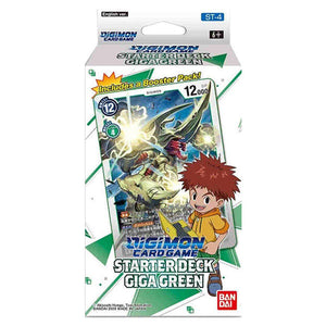 Digimon Card Game Series 04 Starter Display 04 Giga Green