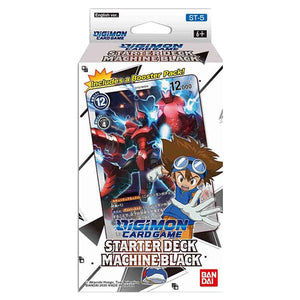 Digimon Card Game Series 04 Starter Display 05 Machine Black