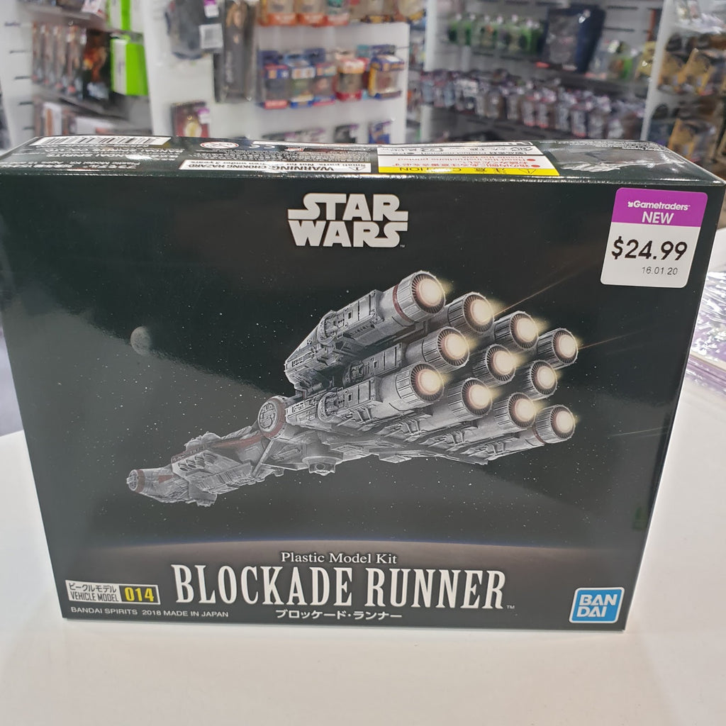 Stars Wars VEHICLE MODEL 014 BLOCKADE RUNNER