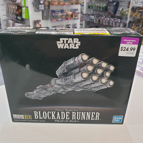 VEHICLE MODEL 014 BLOCKADE RUNNER