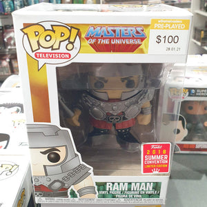 SDCC 2018 MotU - Ram Man Pop Vinyl