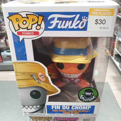 Funko- Orange Fin Du Chomp Popcultcha Pop! Vinyl