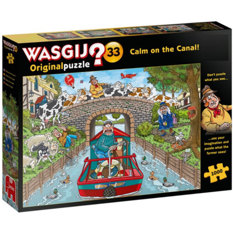 Wasjig 33 Calm On the Canal 1000 pc Puzzle