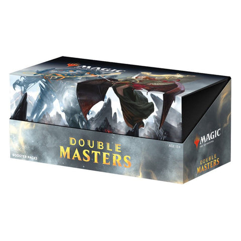 Magic Double Masters Booster Display
