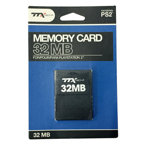 PS2 Memory Card 32 MB