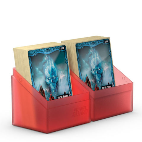 Ultimate Guard Boulder Deck Case 80 Ruby