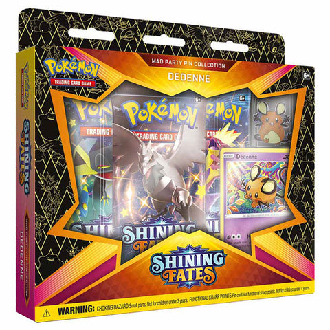 Image of Pokemon TCG: Pin Collection- Shining Fates Mad Party