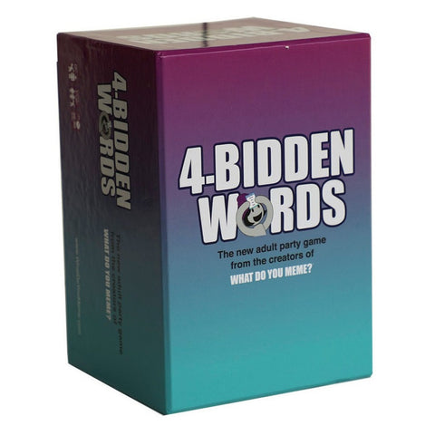 4-Bidden Words