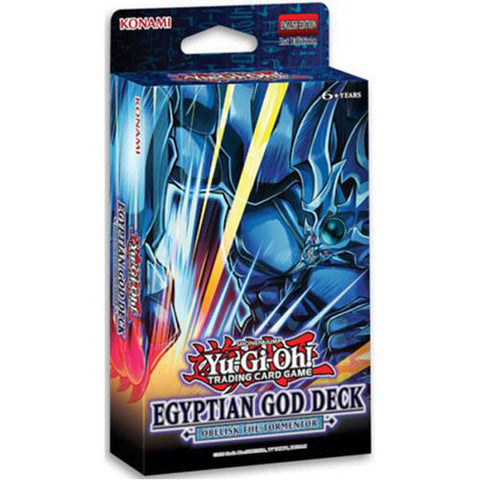 Yu-Gi-Oh! - Egyptian Gods Deck (select deck in comments section of checkout)