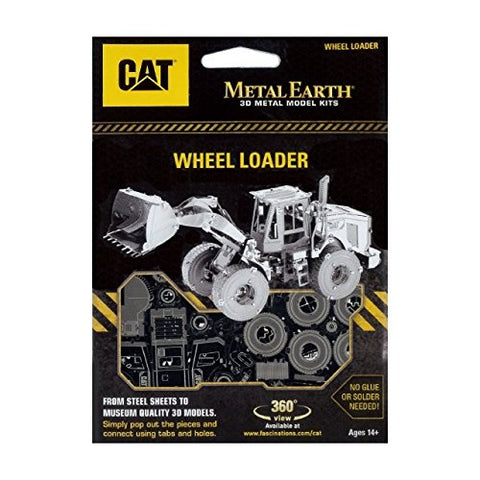 Image of Metal Earth Cat Wheel Loader