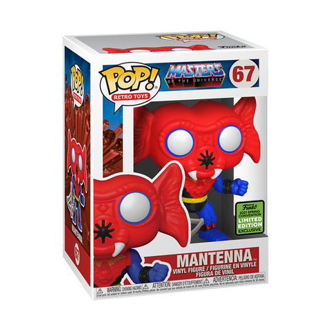 ECCC21 Masters Of The Universe Mantenna Pop Vinyl