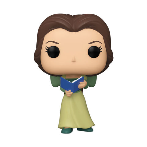 ECCC21 Beaty and the Beast  Belle Green Dress w/Book 30th Pop Vinyl